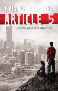 {Review} Article 5 by Kristen Simmons