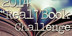 """Real"" Book Challenge June!"