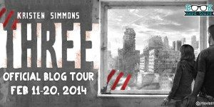 {Tour: Character Interview + Giveaway} THREE by Kristen Simmons