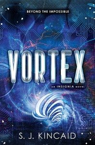 {Tour} Vortex by S.J. Kincaid {Review, Giveaway, + Author Interview}