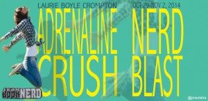 Join Us for the Book Blast for Adrenaline Crush by Laurie Boyle Crompton on October 29