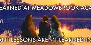 Lessons I Never Learned at Meadowbrook Academy Blog Tour