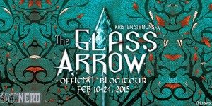 {Tour} The Glass Arrow by Kristen Simmons (Character Interview + Giveaway)
