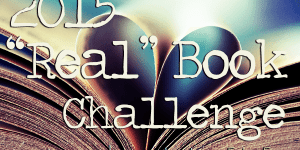 """""""Real"""" Book Challenge September 2015 Wrap-up!"""