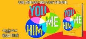 Book Tour for You and Me and Him on July 8