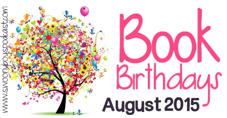 Young Adult Book Release Dates August 2015