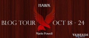 Book Tour for Hawk by Marie Powell on 10/24/2015