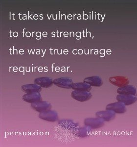 vulnerability persuasion by martina boone