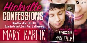 {Top 10} Things Justin Loves About Ryan from Hickville Confessions by Mary Karlik (with Excerpt and Giveaway)