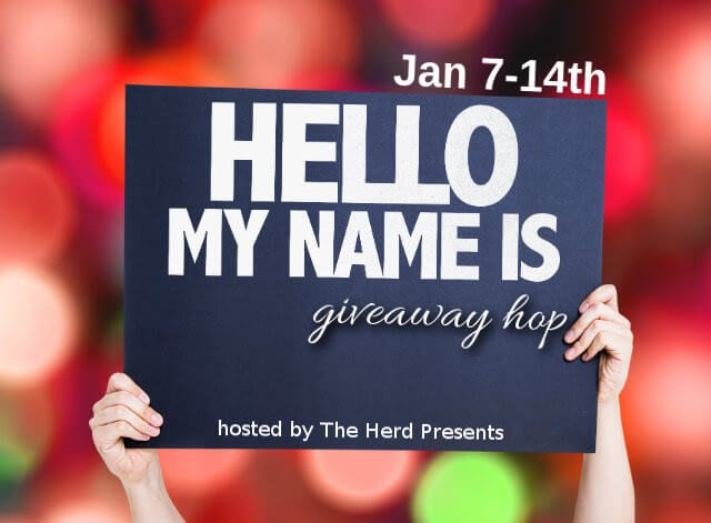 Hello My Name Is Giveaway Hop