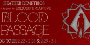 {TOUR}  Blood Passage by Heather Demetrios (Review + Giveaway!)