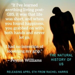 Peyton Williams teaser from The Natural History of Us by Rachel Harris