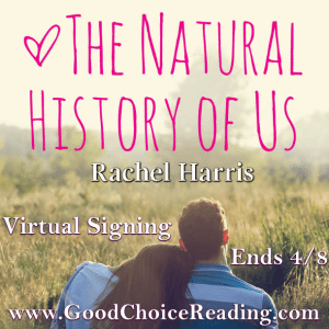 Get your copy of The Natural History of Us signed by Rachel Harris