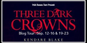 {Tour} Three Dark Crowns by Kendare Blake (Character Interview + a Giveaway)