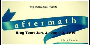 {Tour} Aftermath by Clara Kensie (Character Interview + a Giveaway)