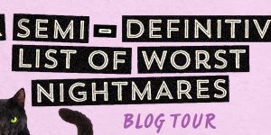 {Tour} A Semi-Definitive List of Worst Nightmares by Krystal Sutherland (Dreamcast + Giveaway!)