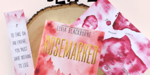 {BLITZ} Rosemarked by Livia Blackburne (Guest Post + a Giveaway!