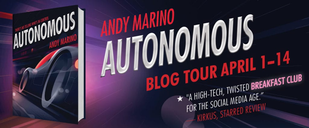 AUTONOMOUS Andy Marino Blog Tour