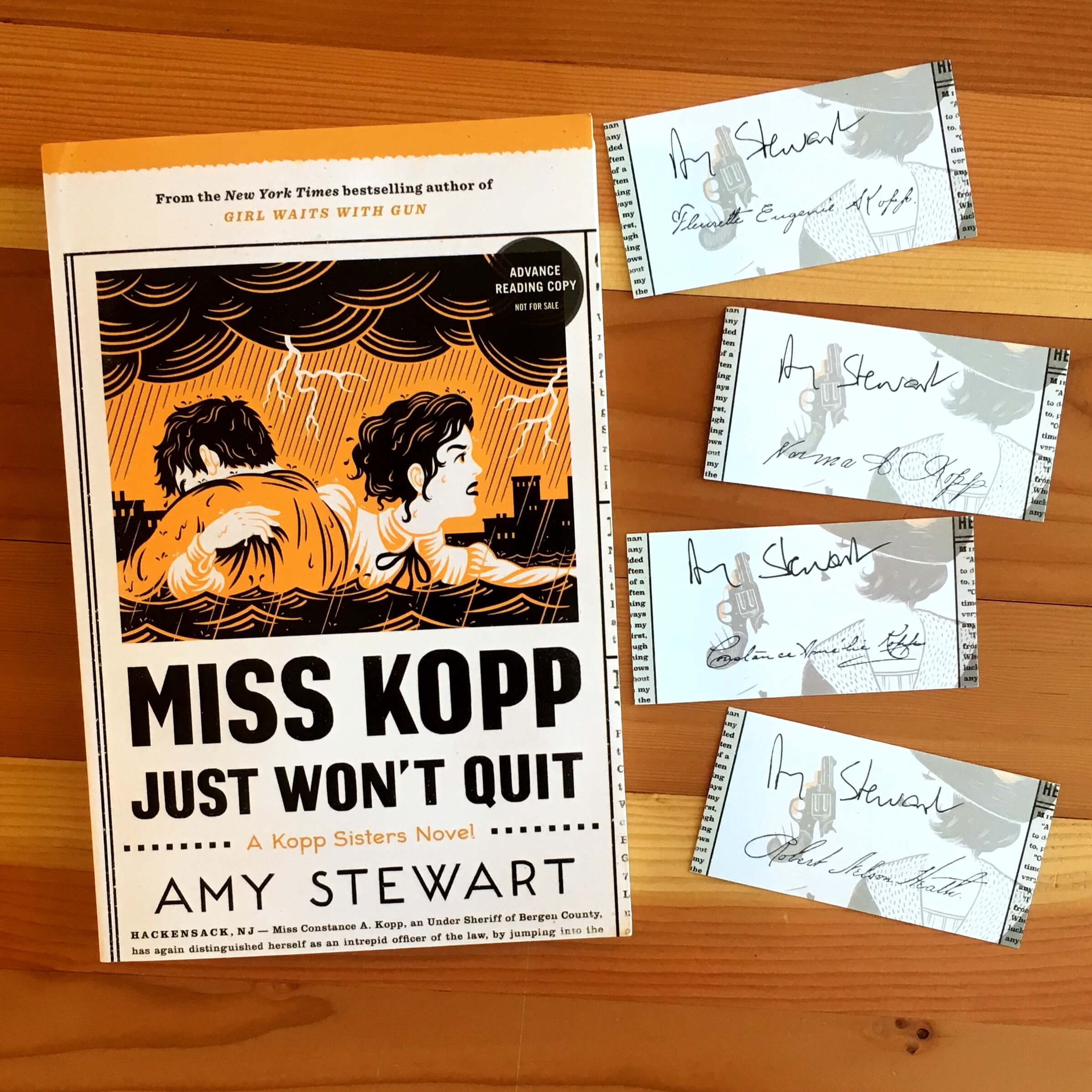 Miss Kopp Just Won't Quit by Amy Stewart