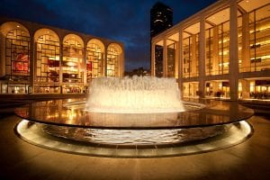 Lincoln Center Fountains
