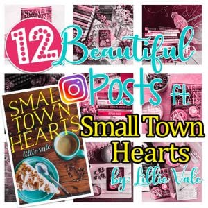 12 Instagram Posts featuring Small Town Hearts by Lillie Vale