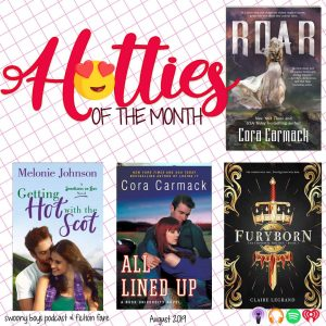 Hotties of the Month August