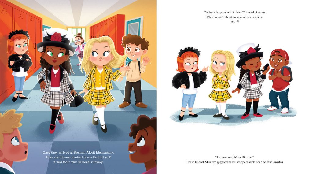 Inside Clueless Picture Book