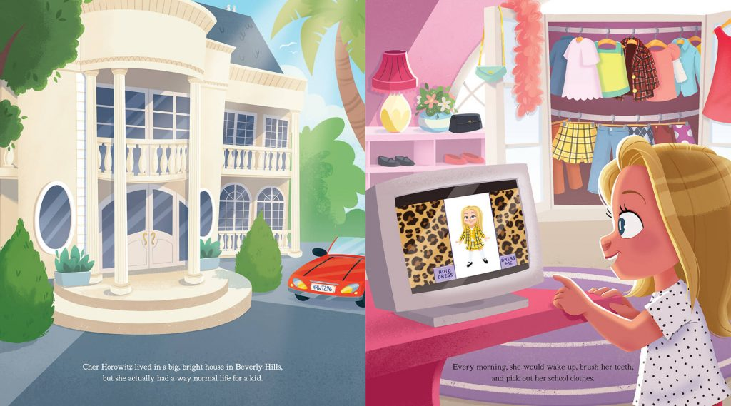 Inside Clueless Picture Book 2