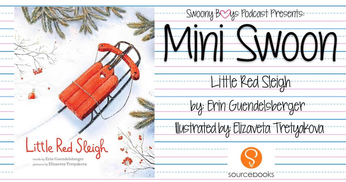 Little Red Sleigh by Erin Guendelsberger