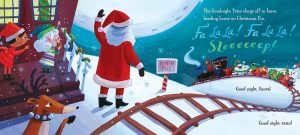 Santa and the Goodnight Train by June Sobel